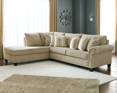 Dovemont Millennium by Ashley 2-Piece Sectional with Chaise