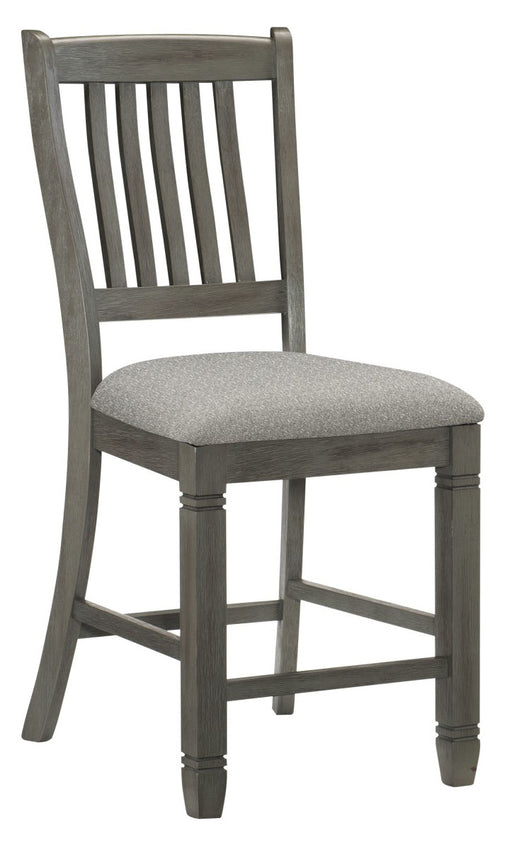 Homelegance Granby Counter Height Chair in Antique Gray (Set of 2) 5627GY-24 image