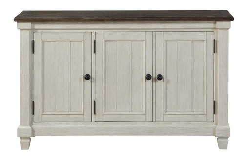 Homelegance Granby Server in White & Brown 5627NW-40 image