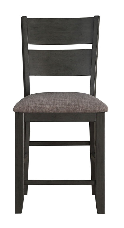Homelegance Baresford Counter Height Chair in Gray (Set of 2) image