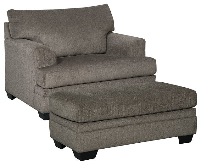 Dorsten Signature Design 2-Piece Chair & Ottoman Set image