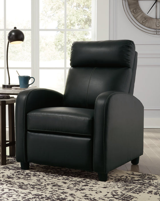 Declo Signature Design by Ashley Low Leg Recliner image