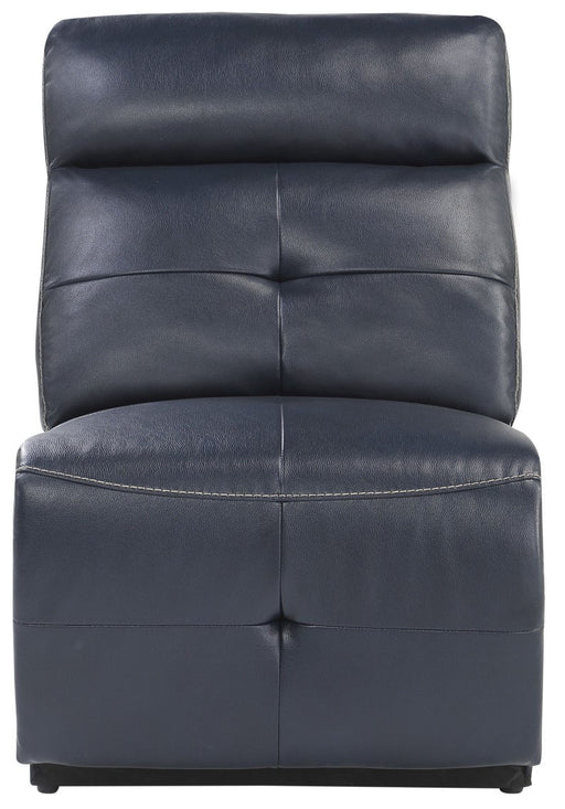 Homelegance Furniture Avenue Armless Chair in Navy 9469NVB-AC image