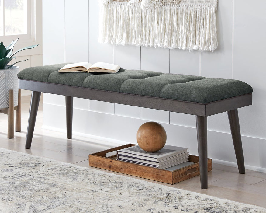 Ashlock Signature Design by Ashley Accent Bench image