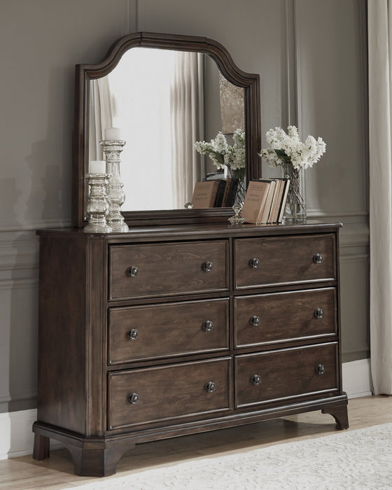 Adinton Signature Design by Ashley Dresser and Mirror image