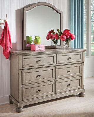Lettner Signature Design by Ashley Youth Dresser and Mirror