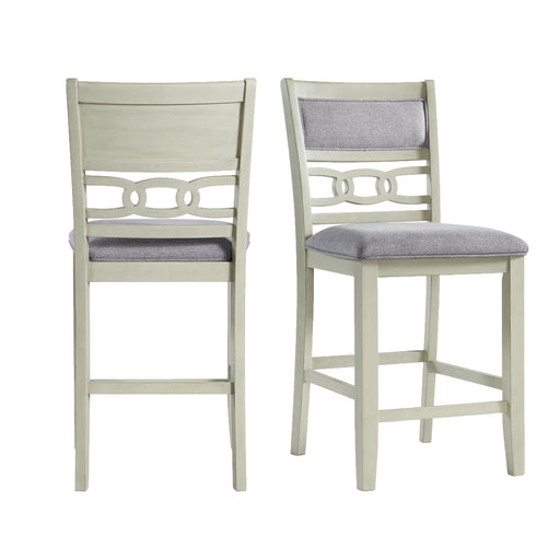 Amherst Counter Height Side Chair Set in Bisque of 2 image