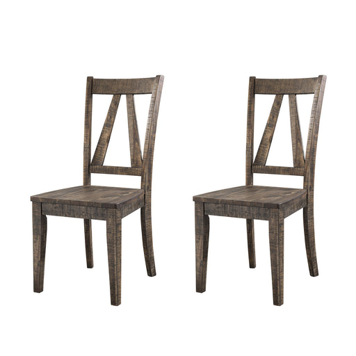 Finn Wooden Side Chair Set of 2 image