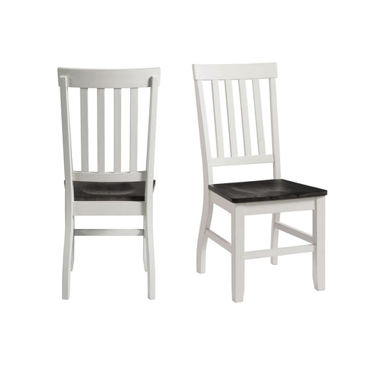 Kayla Two Tone Side Chair Set of 2 image