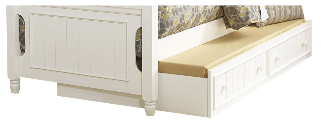 Homelegance Clementine Twin Trundle in White B1799-R image