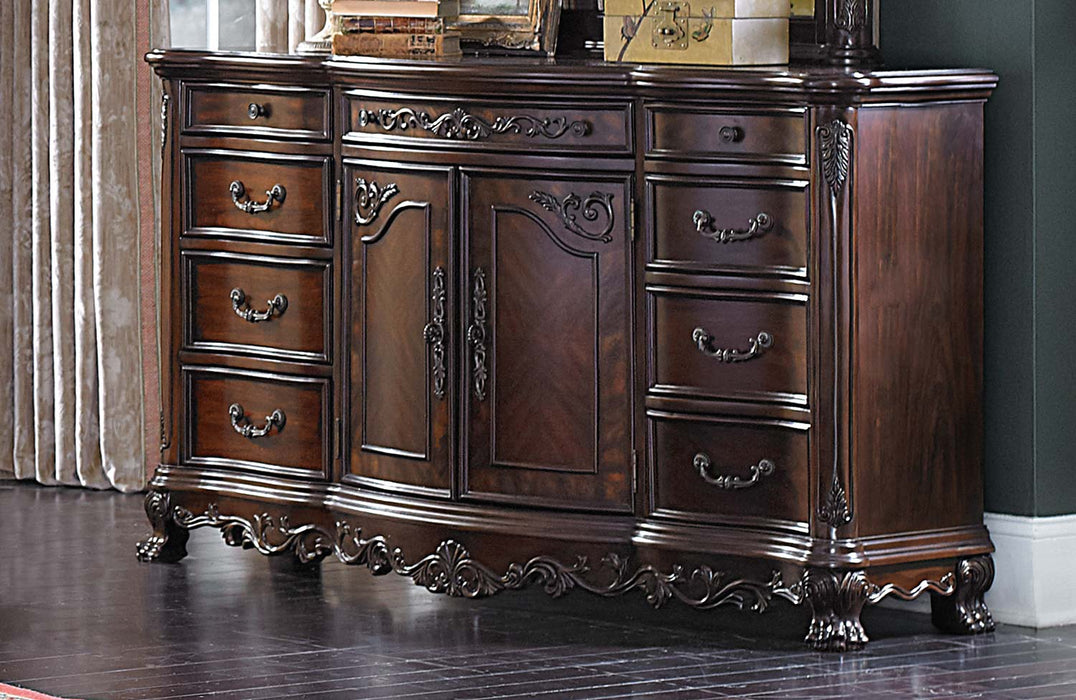 Homelegance Deryn Park 9 Drawer Dresser in Cherry 2243-5 image