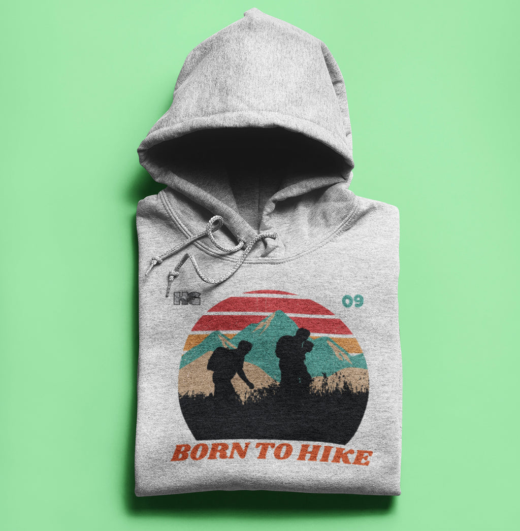 Born to Hike Pullover Hoodie