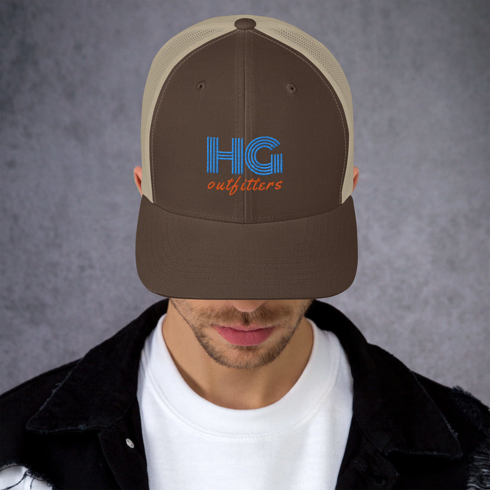 Retro HG Outfitters Mesh Cap