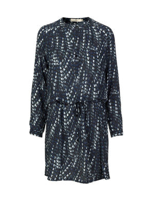 Load image into Gallery viewer, 1251VIS Boheme dress Mia viscose Black