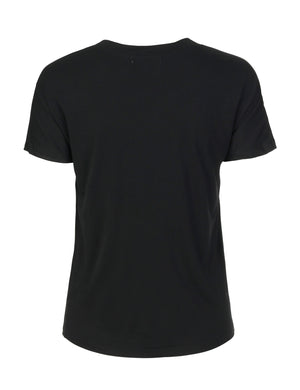 Load image into Gallery viewer, 1260 Chic T-shirt I am hot Black