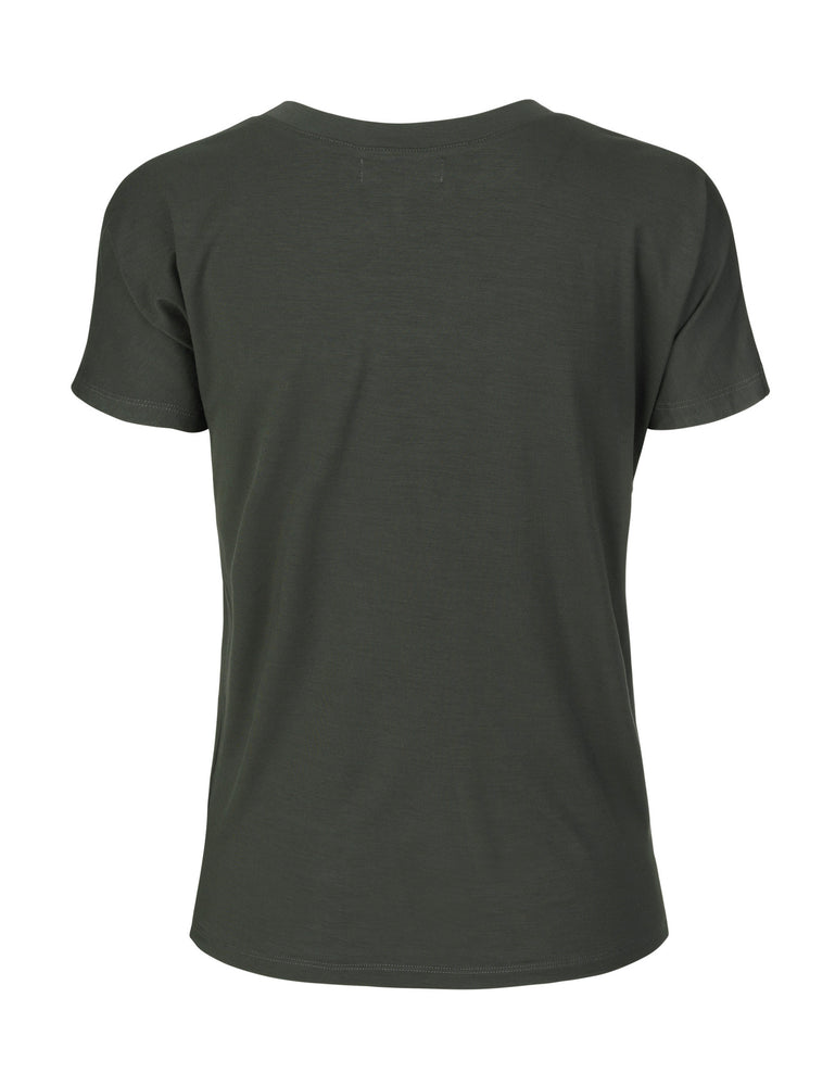 Load image into Gallery viewer, 1260 Chic T-shirt Respect Army