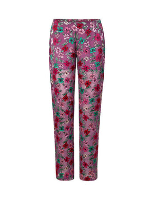 Load image into Gallery viewer, 1350C Chiffon pants Pippa burnout Pink
