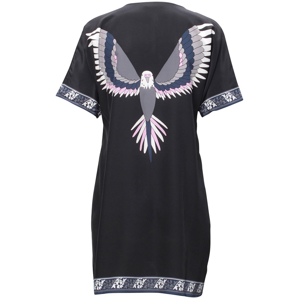 1440 Superdress V-neck Flying bird Grey