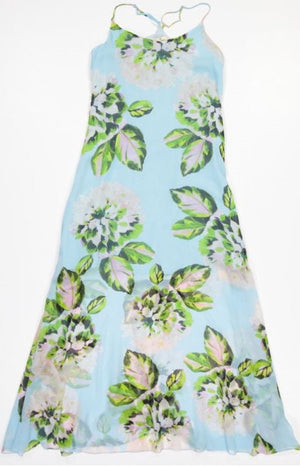 Load image into Gallery viewer, 1762C Gorgeous dress Chloe chiffon Light blue