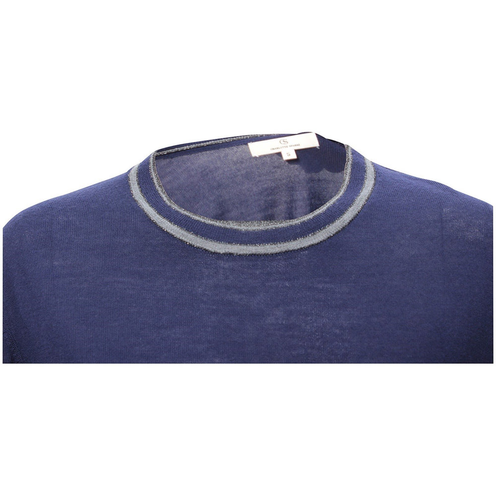 Load image into Gallery viewer, 1861 Merino round neck Solid navy