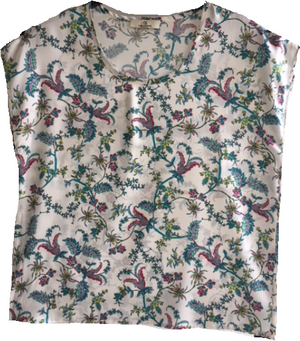 Load image into Gallery viewer, 1917 Silk tee Trine White