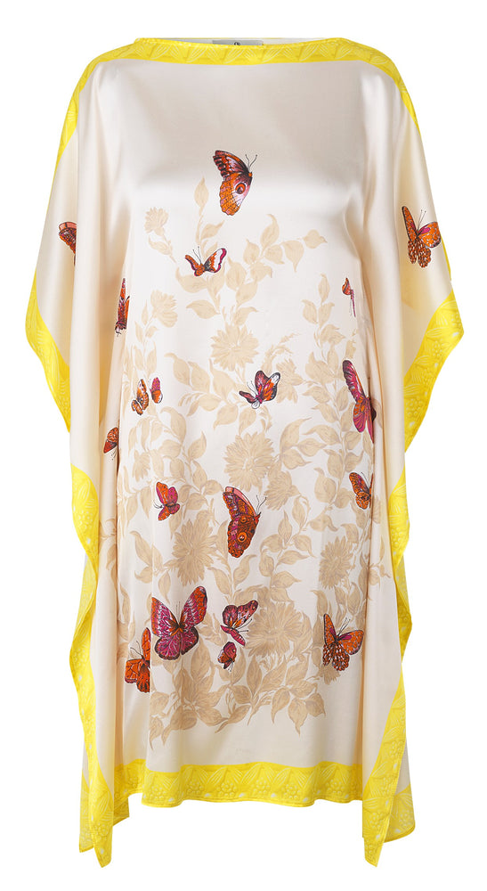 Load image into Gallery viewer, 2110 Kaftan Bfly garden Cream