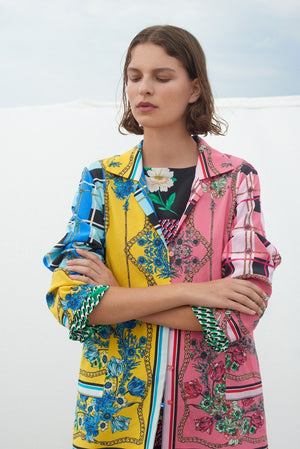 Load image into Gallery viewer, 2137 Scarf jacket Astrid Mix