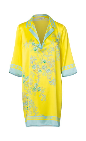 2307 Super shirt dress Devine Yellow