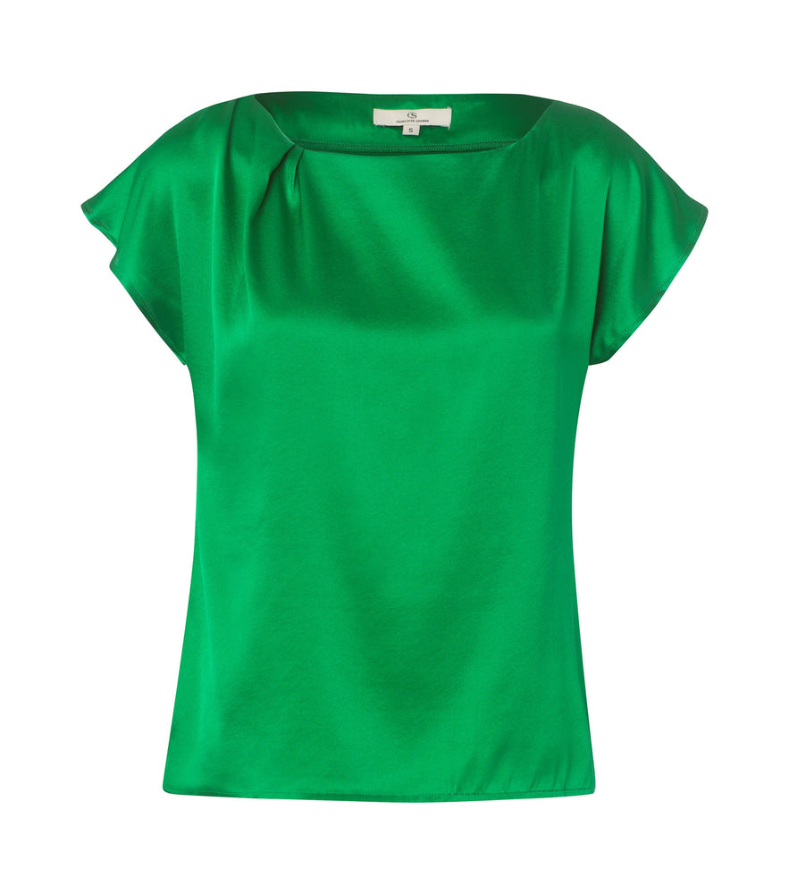 2318 Up top Solid satin Green
