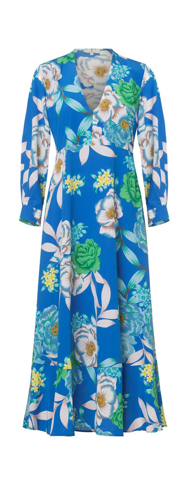 Load image into Gallery viewer, 2333 Awe dress Popi Cobalt