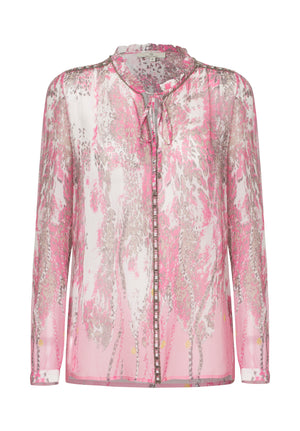 Load image into Gallery viewer, 2368 Always shirt Leo chain Pink