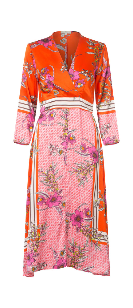 2406 Square dress Hailey Orange