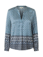 2412 Spark blouse Piper Blue