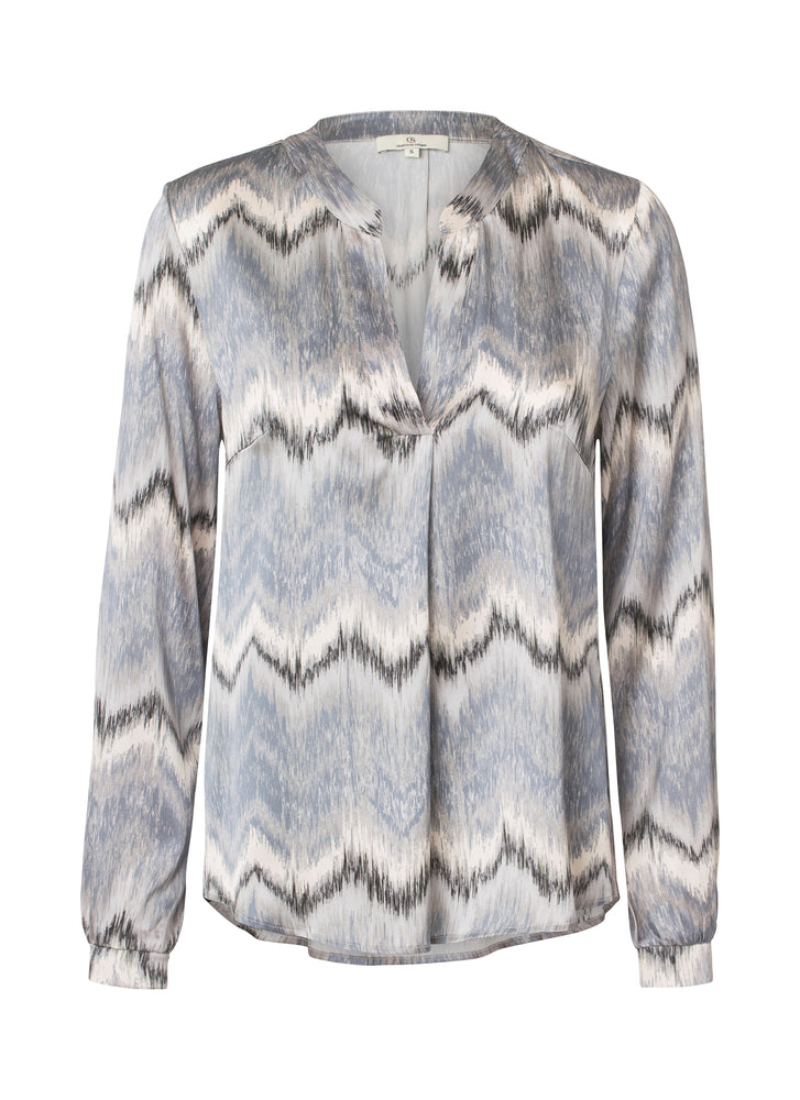 Load image into Gallery viewer, 2423 Spark blouse Hazel Grey