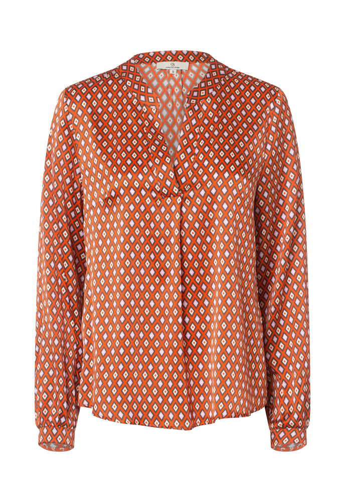 2423 Spark blouse Harlequin Orange
