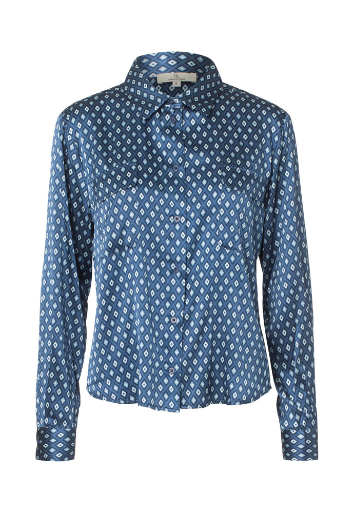Load image into Gallery viewer, 2428 Classic shirt Harlequin Blue