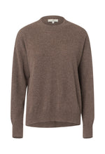 2438 Cashmere sweater Solid Brown