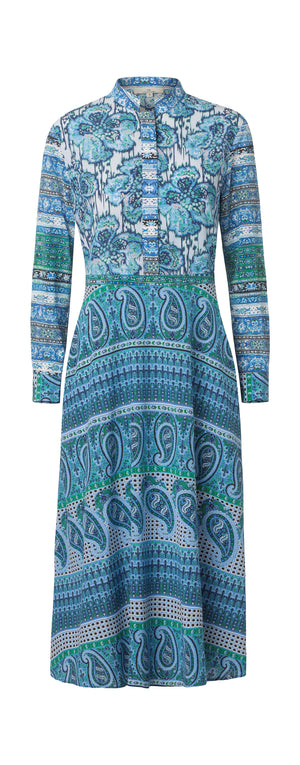 2507 Mais oui dress Kara mix Blue