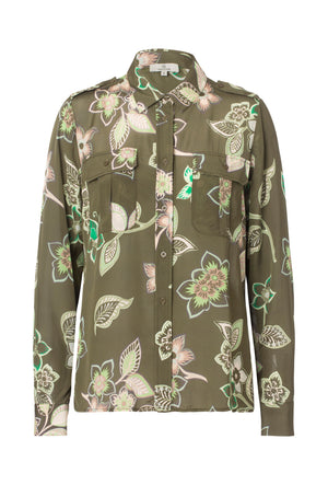 2516 Safari shirt Thea Kaki
