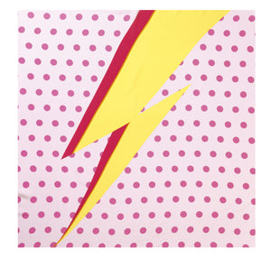 Load image into Gallery viewer, 90-381 Dots lightning Rose/Yellow