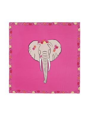 Load image into Gallery viewer, 90-403 Flower elephant Pink
