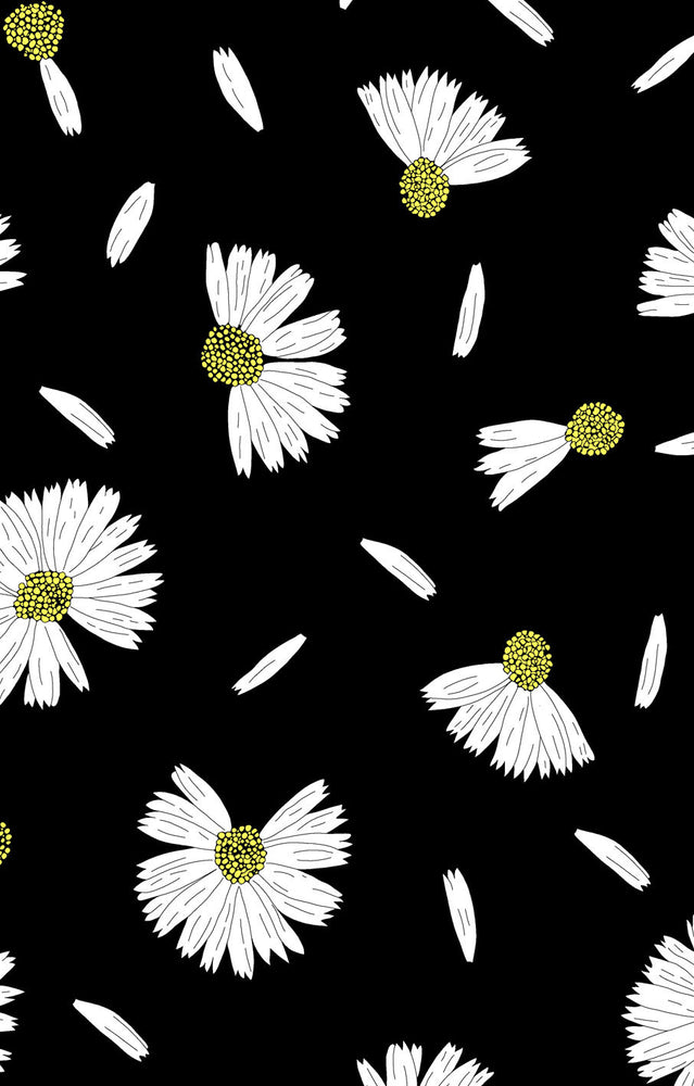 CS608 Daisy love Black