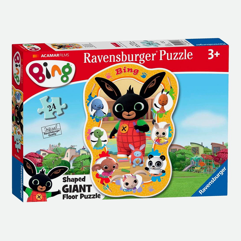Bing 24pc Shaped Giant Floor Puzzle