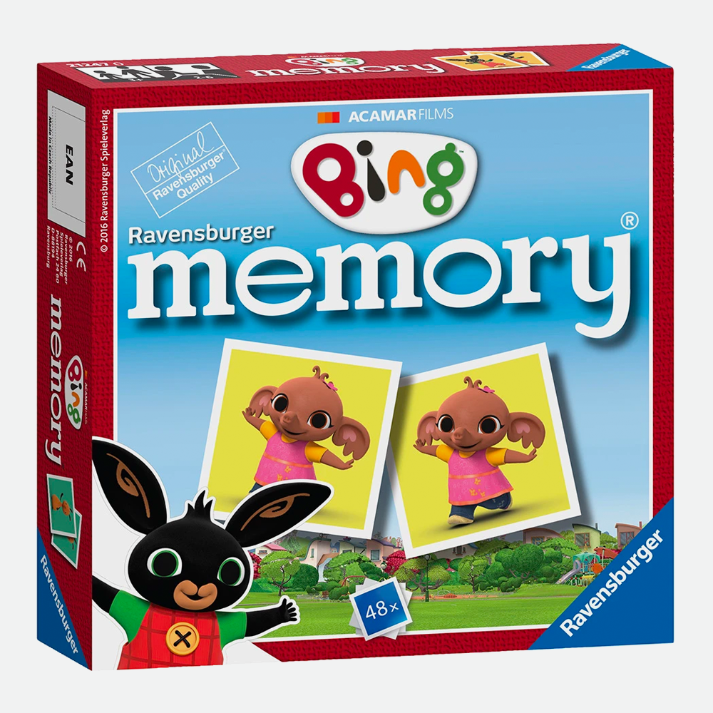 Bing Memory Cards Game