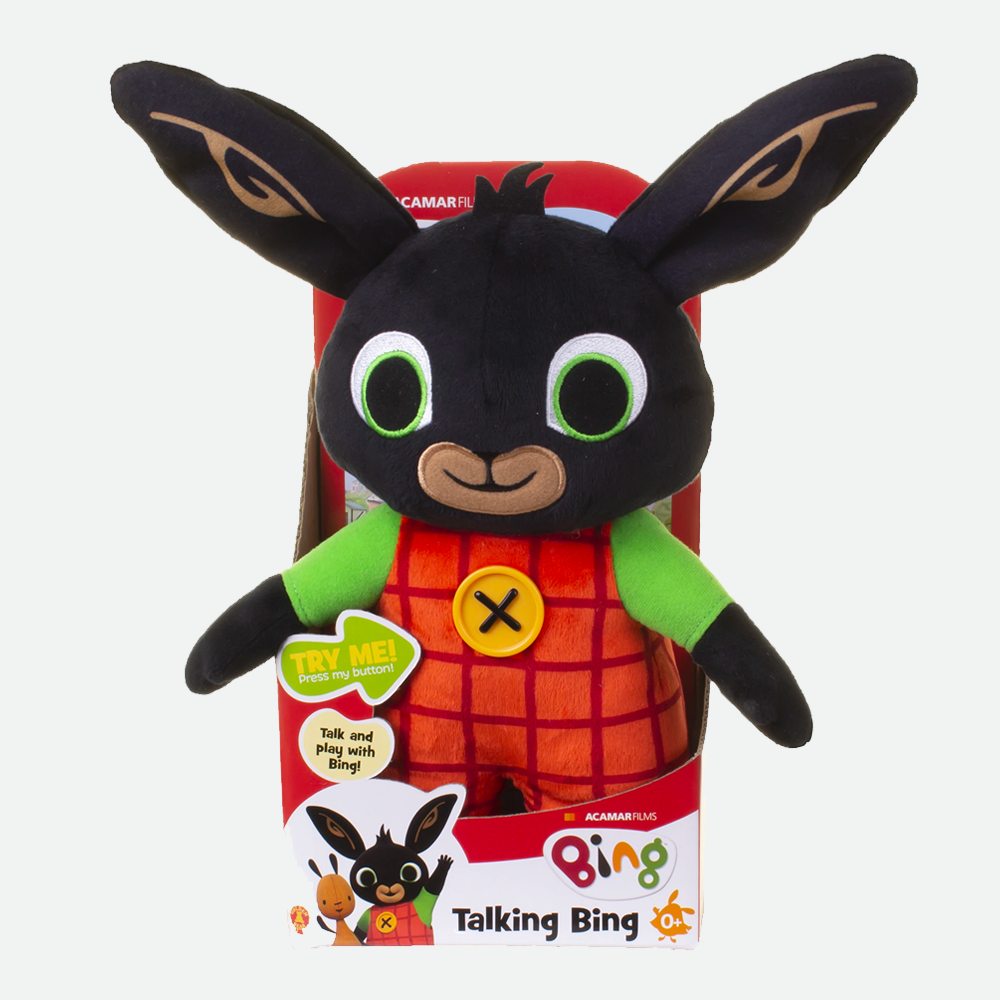 Talking Bing Soft Toy