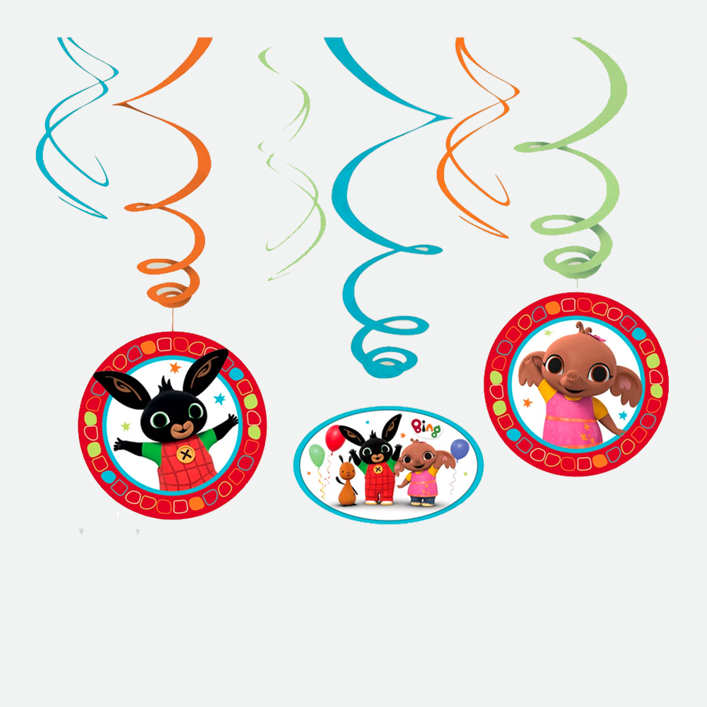 Bing Swirl Decorations Pack