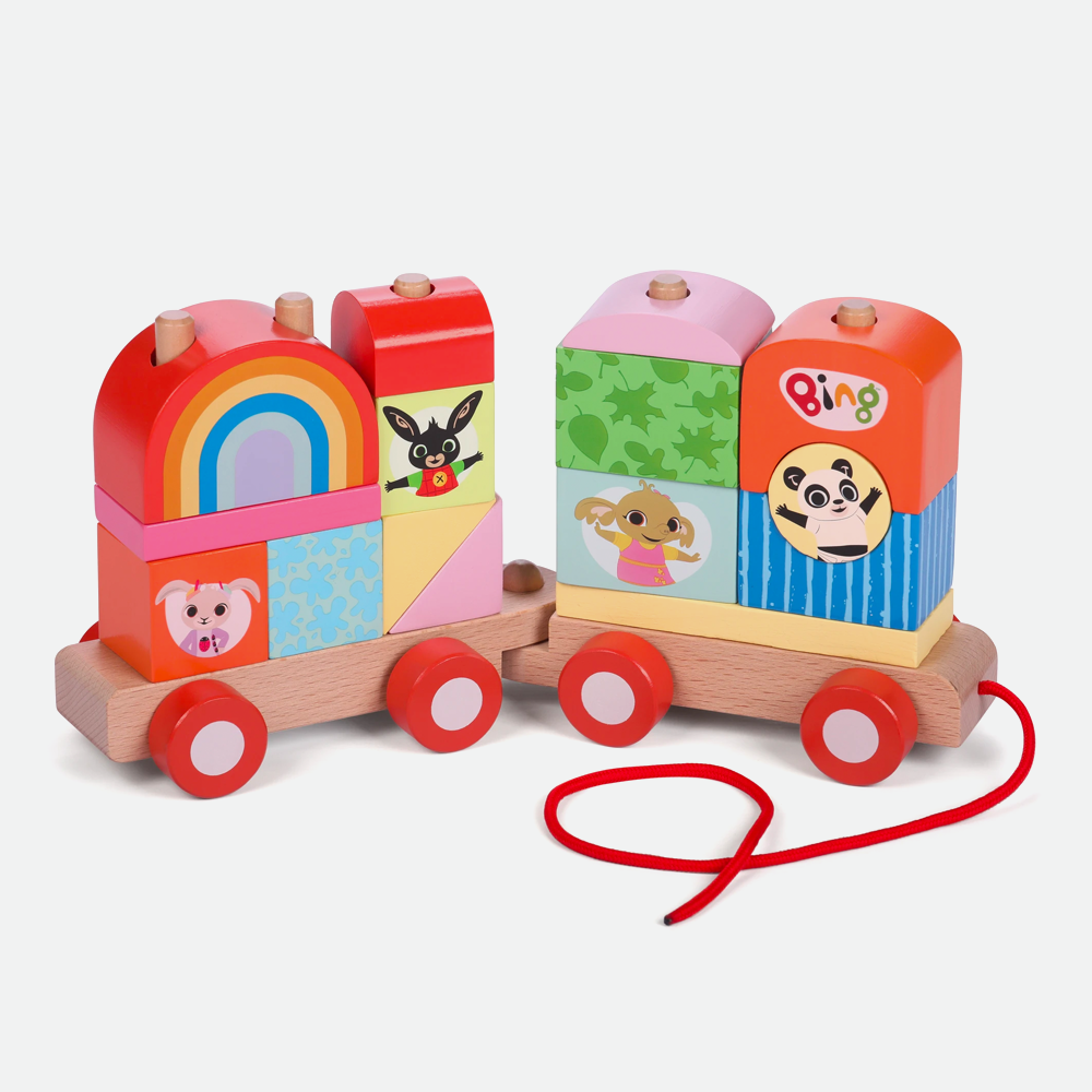 Bing Wooden Stacking Train Toy