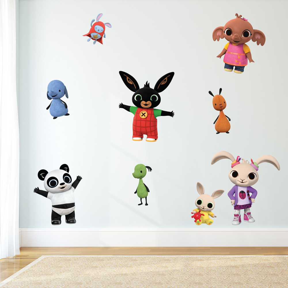Bing & Friends Wall Sticker Sheet
