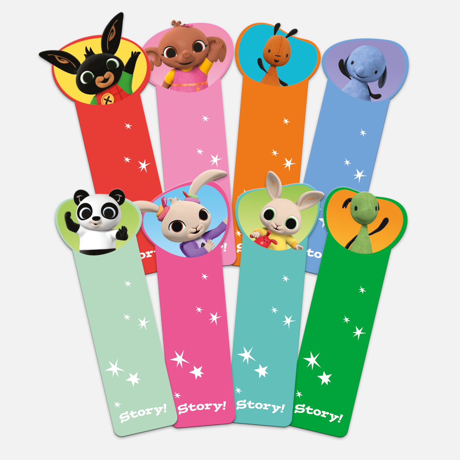 Bing Character Bookmarks - Set of 8