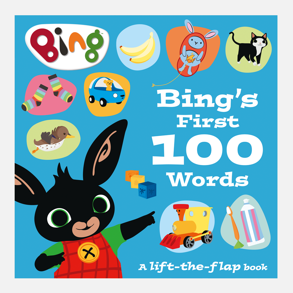 Bing's First 100 Words Book